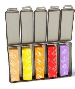High Performance Flexible Sandpaper (FineSet) (180/280/400/600/800) · MEN MTS041 ·  MENG Models