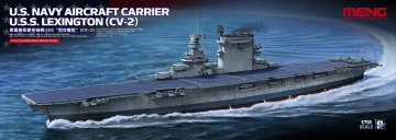 U.S.Navy Aircraft Carrier U.S.S.Lexington (CV-2) · MEN PS002 ·  MENG Models · 1:700