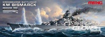 Kriegsmarine Battleship KM Bismarck · MEN PS003 ·  MENG Models · 1:700