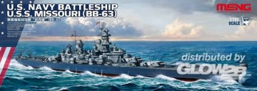 U.S. Navy Battleship U.S.S. Missouri (BB-63) · MEN PS004 ·  MENG Models · 1:700