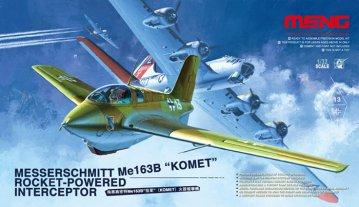 Messerschmitt Me163 B Komet Roket · MEN QS001 ·  MENG Models · 1:32
