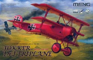 Fokker Dr.I Triplane · MEN QS002 ·  MENG Models · 1:32