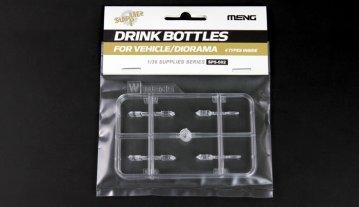 Drink Bottles for Vehicle/Diorama · MEN SPS002 ·  MENG Models · 1:35