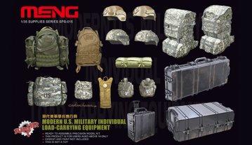 Modern U.S. Military individual load-car · MEN SPS015 ·  MENG Models · 1:35