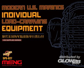 Modern U.S.Marines Individual Load-Carry Carrying Equipment (Resin) · MEN SPS027 ·  MENG Models · 1:35