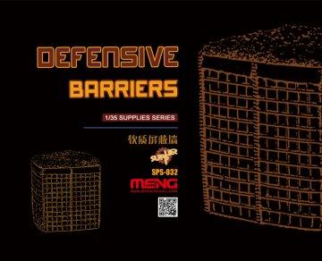Defensive Barriers (Resin) · MEN SPS032 ·  MENG Models · 1:35