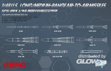 U.S.Long/Medium-range Air-to-air Missile · MEN SPS044 ·  MENG Models · 1:48