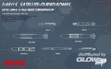 U.S.Satellite-guided Bombs · MEN SPS045 ·  MENG Models · 1:48