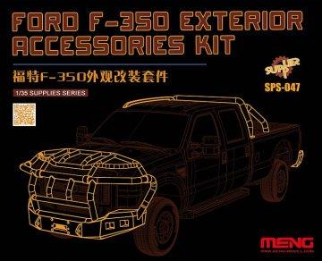 Ford F-350 - Exterior accessories kit (Resin) · MEN SPS047 ·  MENG Models · 1:24