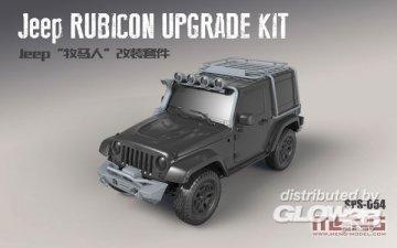 Jeep Rubicon Upgrade Kit (Resin) · MEN SPS054 ·  MENG Models · 1:24