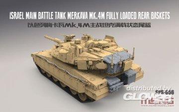 Israel Main Battle Tank Merkava Mk.4M · MEN SPS056 ·  MENG Models · 1:35