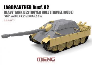 Jagdpanther Ausf. G2 Heavy Tank Destroyer Hull (Travel Mode) (Resin) · MEN SPS071 ·  MENG Models · 1:35