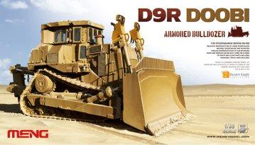 D9R Doobi Armored Bulldozer · MEN SS002 ·  MENG Models · 1:35