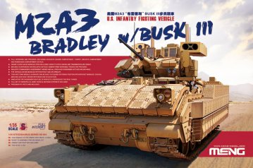 U.S. Infantry Fighting Vehicle M2A3 Bradley · MEN SS004 ·  MENG Models · 1:35