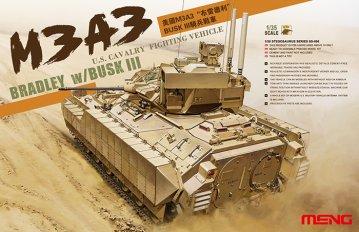U.S. Cavalry Fighting Vehicle M3A3 BRADL · MEN SS006 ·  MENG Models · 1:35