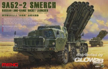 Russian Long-Range Rocket Launcher 9A52-2 Smerch · MEN SS009 ·  MENG Models · 1:35