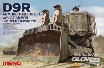 D9R Armored Bulldozer W/Slat Armor · MEN SS010 ·  MENG Models · 1:35