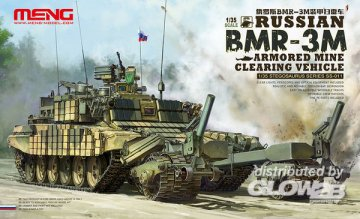 Russian BMR-3M Armored Mine Clearing Vehicle · MEN SS011 ·  MENG Models · 1:35