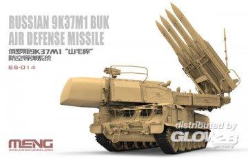 Russian 9K37M1 Buk Air Defense Missile System · MEN SS014 ·  MENG Models · 1:35