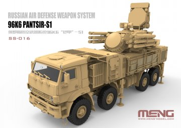 Russian Air Defense Weapon System 96K6 Pantsir-S1 · MEN SS016 ·  MENG Models · 1:35