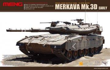 Merkava Mk.3D Early · MEN TS001 ·  MENG Models · 1:35
