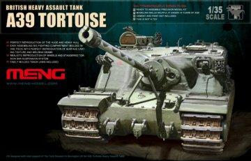 British A39 Tortoise Heavy Assault Tank · MEN TS002 ·  MENG Models · 1:35