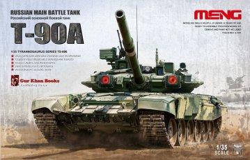 Russian Main Battle Tank T-90A · MEN TS006 ·  MENG Models · 1:35