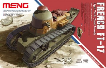 French FT-17 Light Tank(Cast Turret) · MEN TS008 ·  MENG Models · 1:35