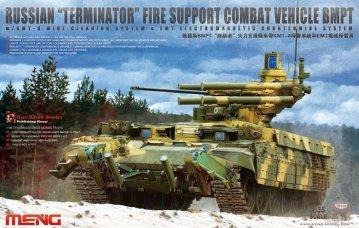 Russian Terminator Fire Support Combat · MEN TS010 ·  MENG Models · 1:35
