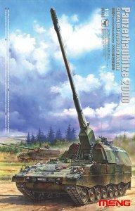 Panzerhaubitze 2000 - German self-propelled howitzer · MEN TS012 ·  MENG Models · 1:35