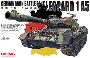 German main Battle Tank Leopard 1 A5 · MEN TS015 ·  MENG Models · 1:35