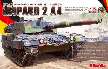 German Main Battle Tank Leopard 2 A4 · MEN TS016 ·  MENG Models · 1:35