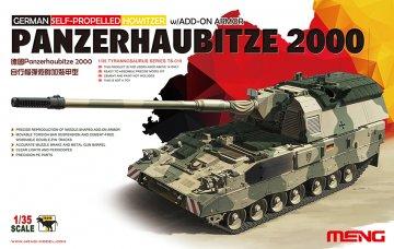 German Panzerhaubitze 2000 Self-Propelled Howitzer · MEN TS019 ·  MENG Models · 1:35