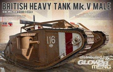 British Heavy Tank Mk. V Male · MEN TS020 ·  MENG Models · 1:35