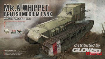 British Medium Tank Mk.A Whippet · MEN TS021 ·  MENG Models · 1:35