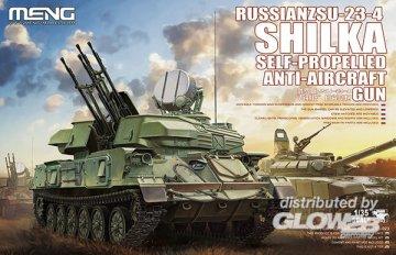 Russian ZSU-23-4 Shilka Self-Propelled Anti-Aircraft Gun · MEN TS023 ·  MENG Models · 1:35