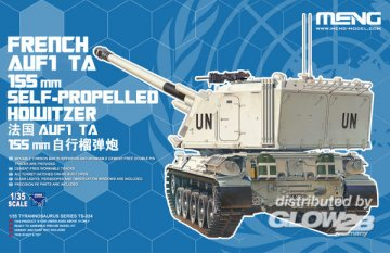 French Auf1 TA 155mm SELF-Propelled Howitzer · MEN TS024 ·  MENG Models · 1:35