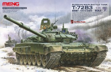 Russian Main Battle Tank T-72B3 · MEN TS028 ·  MENG Models · 1:35