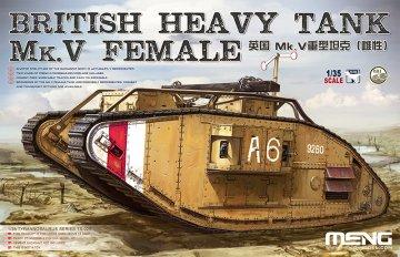 British Heavy Tank Mk.V Female · MEN TS029 ·  MENG Models · 1:35
