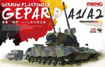 German Flakpanzer Gepard A1/A2 · MEN TS030 ·  MENG Models · 1:35