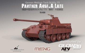 German Medium Tank Sd.Kfz.171 Panther Ausf.A Late · MEN TS035 ·  MENG Models · 1:35