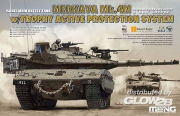 Israel Main Battle Tank merkava Mk.4M w/Trophy Active Protection System · MEN TS036 ·  MENG Models · 1:35