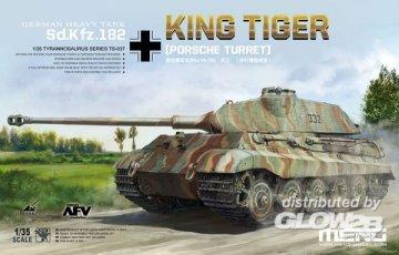 German Heavy Tank Sd.Kfz.182 King Tiger (Porsche Turret) · MEN TS037 ·  MENG Models · 1:35