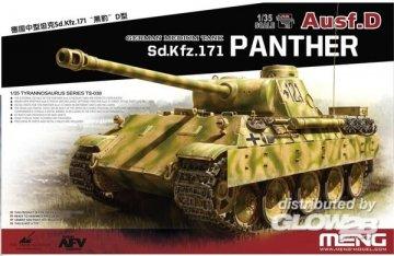 German Medium Tank Sd.Kfz.171 Panther Ausf. D · MEN TS038 ·  MENG Models · 1:35