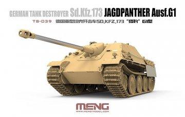 Sd.Kfz 173 - Jagdpanther G1 · MEN TS039 ·  MENG Models · 1:35
