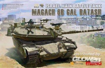 Israel Main Battle Tank Magach 6B GAL BATASH · MEN TS040 ·  MENG Models · 1:35