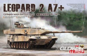 German Main Battle Tank - Leopard 2A7+ · MEN TS042 ·  MENG Models · 1:35