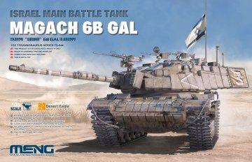 Israel Main Battle Tank Magach 6B GAL · MEN TS044 ·  MENG Models · 1:35