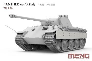 German Medium Tank Sd.Kfz.171 Panther Ausf.A Early · MEN TS046 ·  MENG Models · 1:35