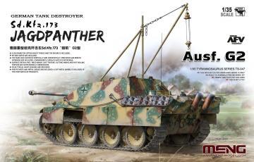 German Tank Destroyer Sd.Kfz.173 Jagdpanther Ausf. G2 · MEN TS047 ·  MENG Models · 1:35